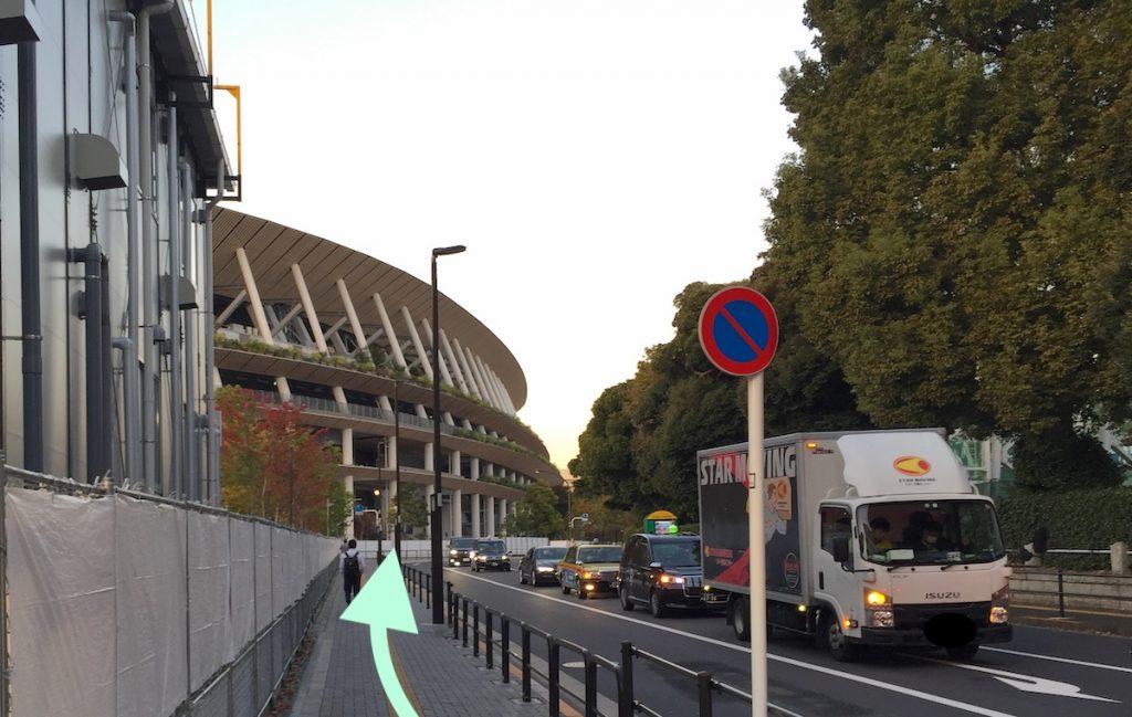 東京体育館のアクセス画像22