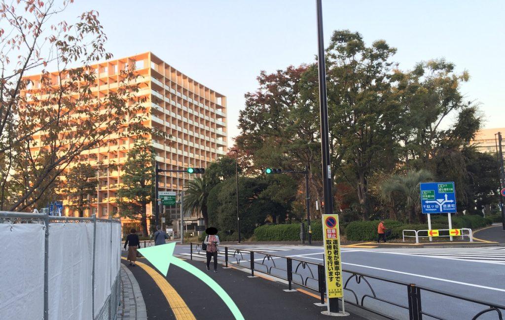 東京体育館のアクセス画像24