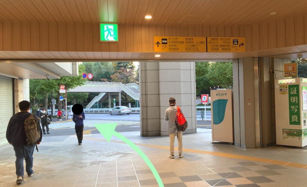東京体育館のアクセス画像2
